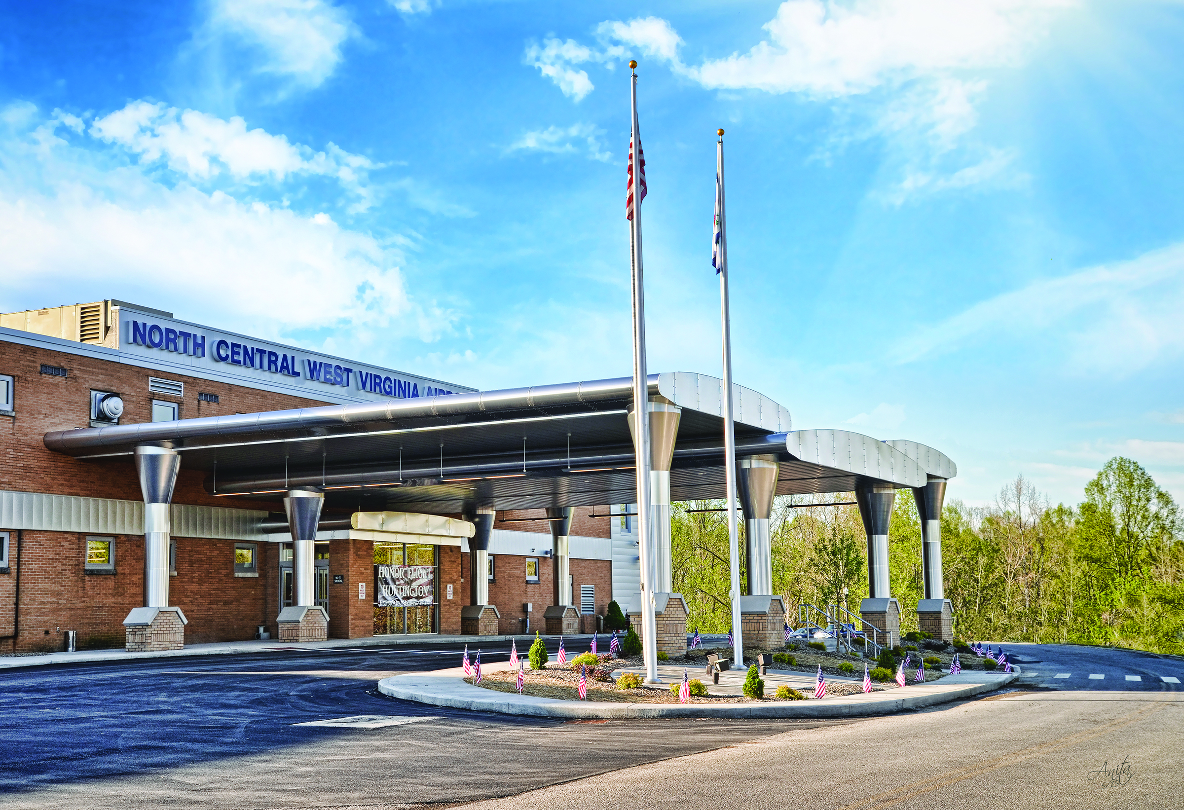 North Central West Virginia Airport Celebrates Exterior Terminal Remodel