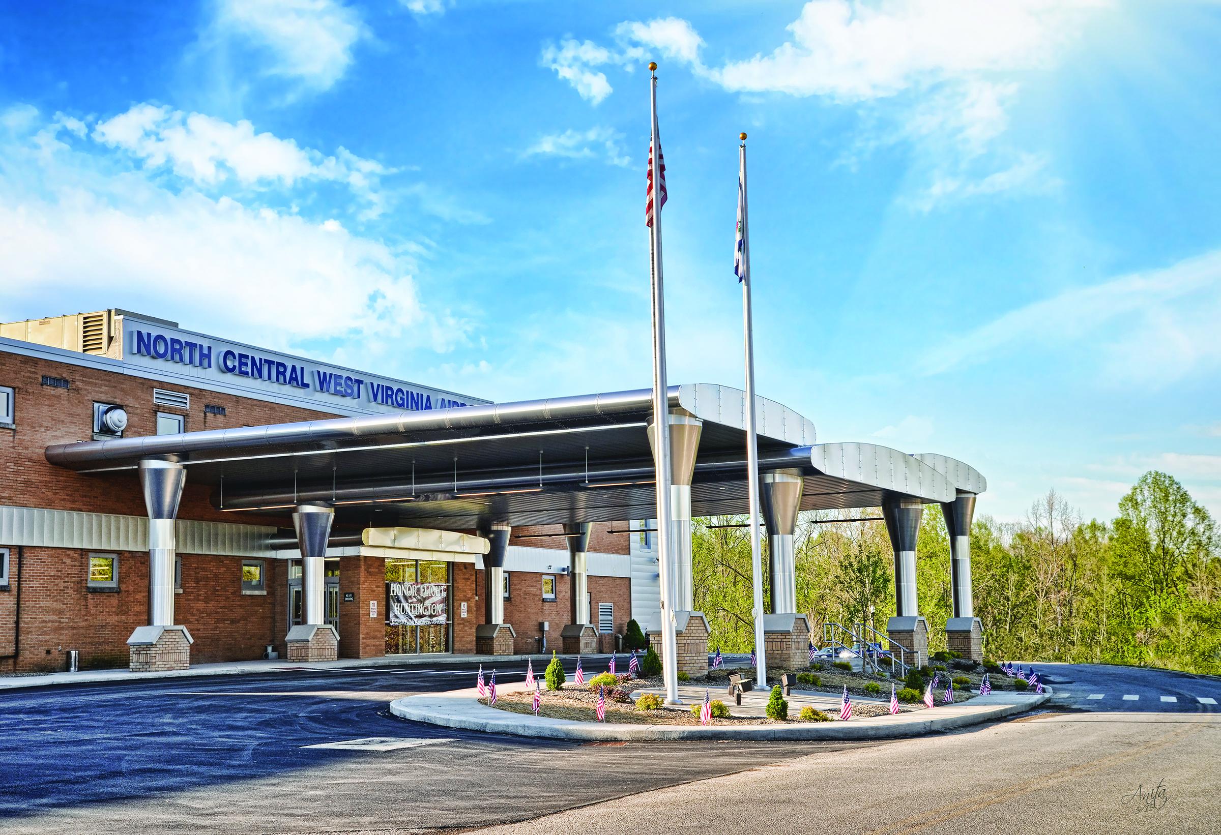 North Central West Virginia Airport Celebrates Exterior Terminal Remodel